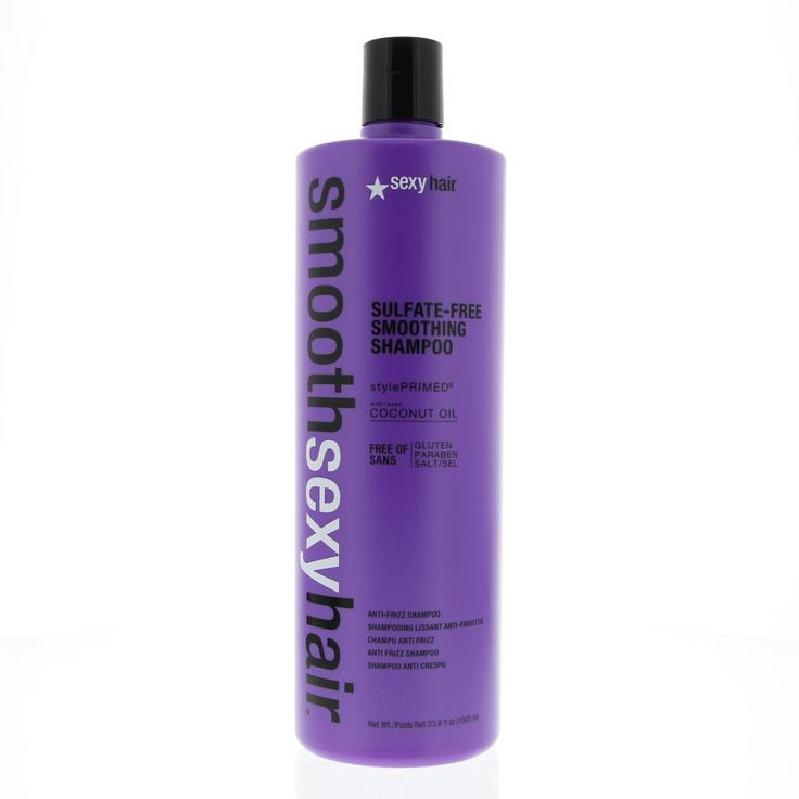 Sexy Hair Smooth Sexy Hair Sulfate-Free Smoothing Shampoo Weersbarstig Haar 1000ml  Description: Smooth Sexy Hair Sulfate-Free Smoothing Shampoo.Transformeert pluisvormig golvend en krullend haar in zacht slank en glanzend haar. Sulfaat gluten parabenen en zoutvrije shampoo. Veilig voor chemisch behandeld haar en extensions. Bevat kokosnootolie. Voorkomt pluisvorming.Goede vochtbalans.Gebruik: Aanbrengen op vochtig haar inmasseren uitspoelen en herhalenindien nodig.  Price: 33.85  Meer…