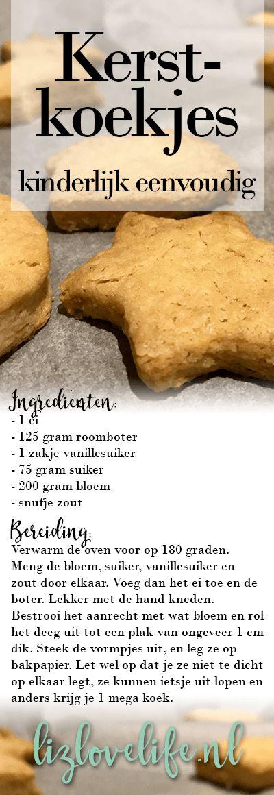 Lizlovelife kerstkoekjes Recept kerstkoekjes Happy & healthy
