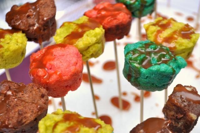 bread pudding lollipops: Puddings Lollipops, Breads Puddings, Bread Puddings