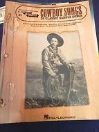 Organ Piano Electronic Keyboard Song Book Cowboy Songs EZ Play Today No. 85