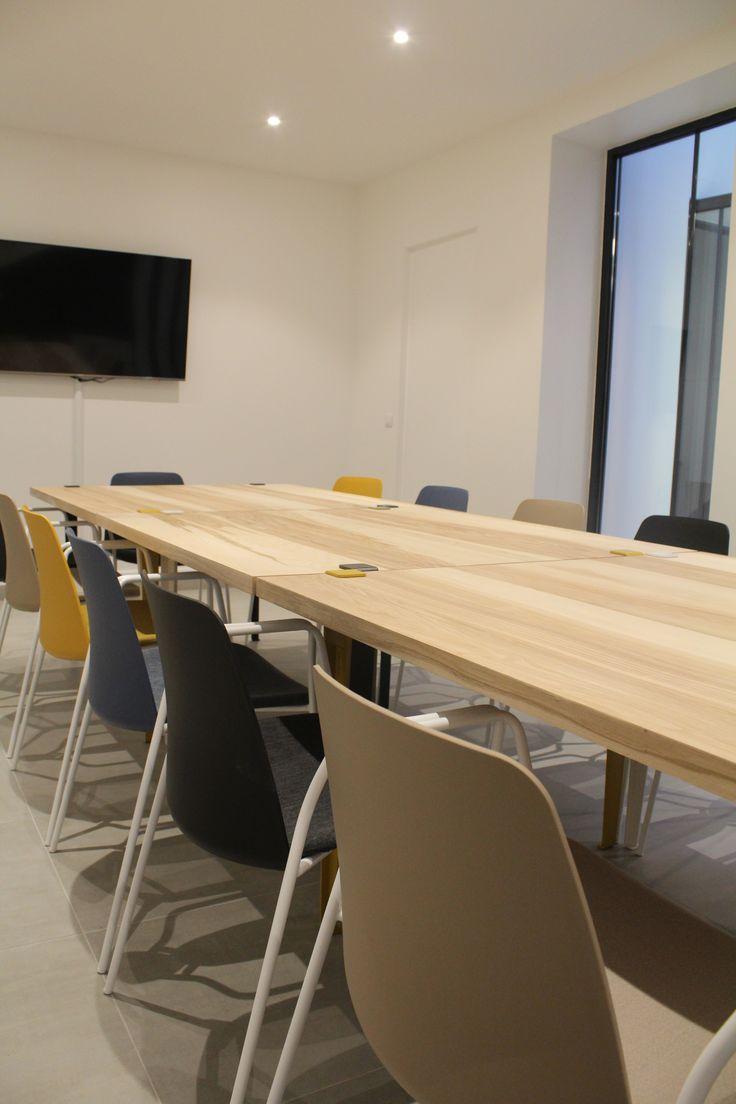 le.nid AI - projet 75_11è - aménagement d'un espace de travail en coworking -  salle de réunion
