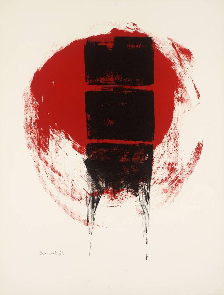Lynn Chadwick (1914‑2003)  Untitled  1962-3  Lithograph on paper