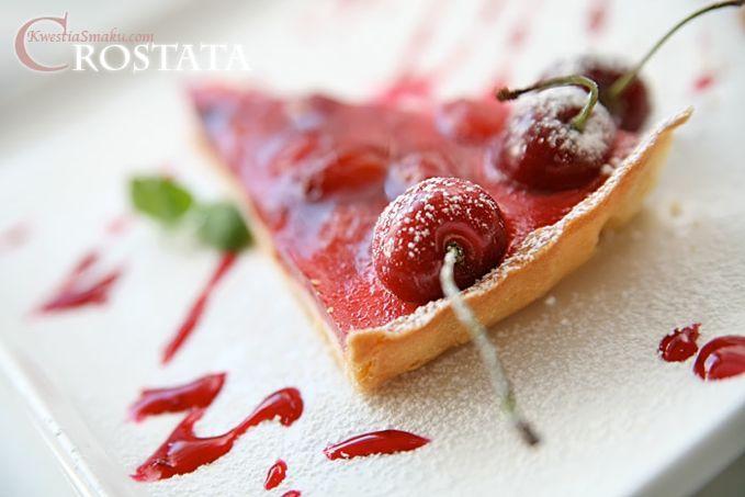 Tarta z czereśniami i panna cottą | Kwestia Smaku