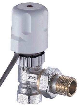 15mm Listrik Aktuator Katup Radiator-Putih