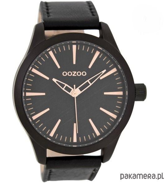 zegarki - damskie-Zegarek OOZOO C7428 black/rose
