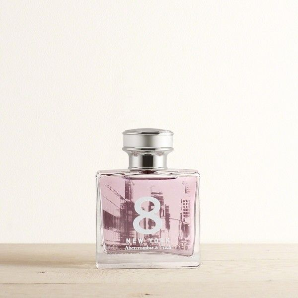 Abercrombie & Fitch 8 New York Perfume ($25) ❤ liked on Polyvore featuring beauty products, fragrance, parfum fragrance, abercrombie fitch perfume and perfume fragrance