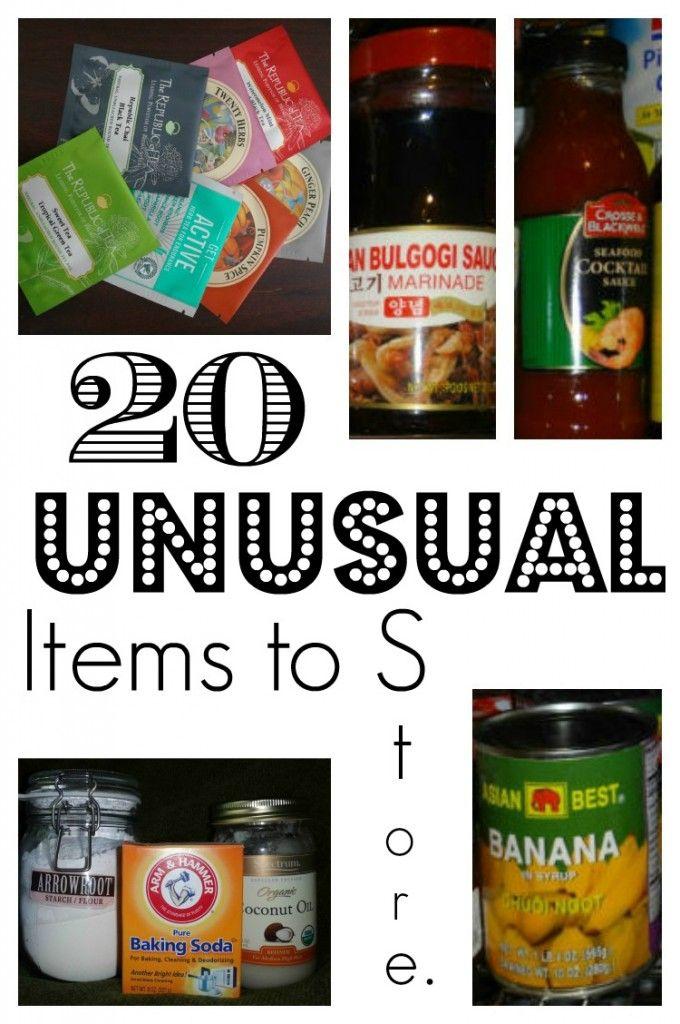 unusual items stocking up http://thesurvivalmom.com/unusual-items-stocking-up/
