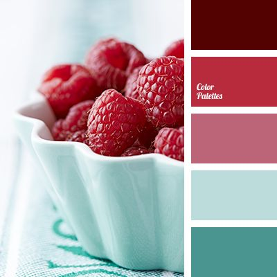 """dusty"" shades of colors, burgundy, burgundy and turquoise, color of raspberries, color of raspberry, color of Tiffany, light turquoise, light turquoisecolor, magenta and turquoise, magenta shades, shades of magenta, turquoise, turquoise and burgundy."