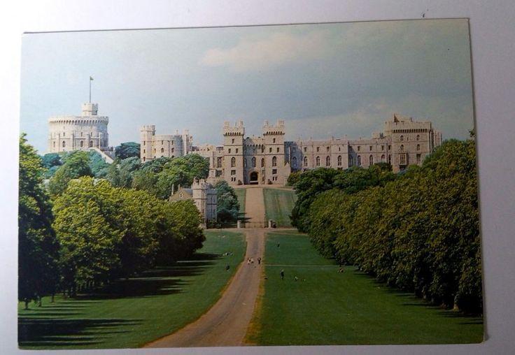Berkshire Windsor Park Castle J Arthur Dixon DRG Postcard