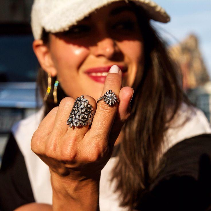 Meghan Farrell in Melissa Kaye jewelry by Bryan Spitzer