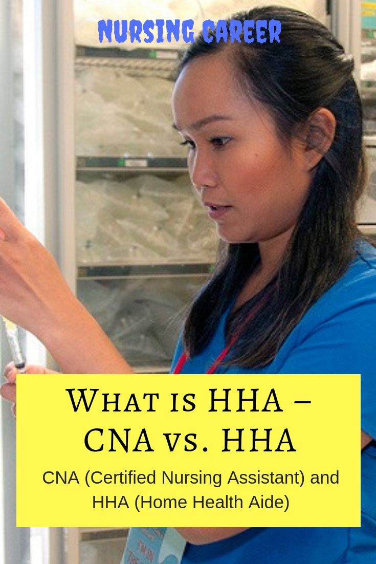 Wondering What The Difference Between A Cna And Hha Are Know All