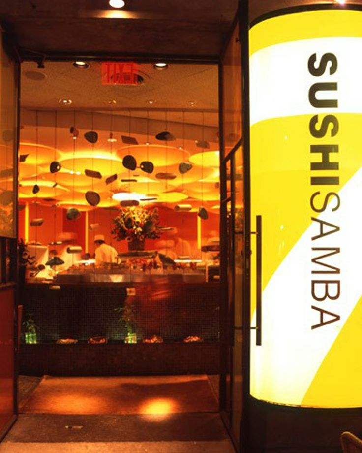 Sushi Samba--Park Ave + 20th    Now I know what Seviche is