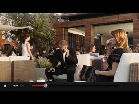 Lauriane Gilliéron George Clooney et Matt Damon dans la nouvelle pub Nespresso - YouTube