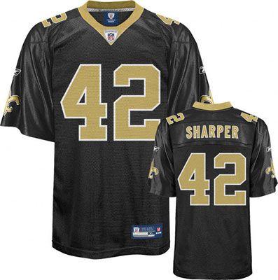 Reebok New Orleans Saints Darren Sharper 42 Black Authentic Jersey Sale NFL  Pinterest ... 5c3dae411