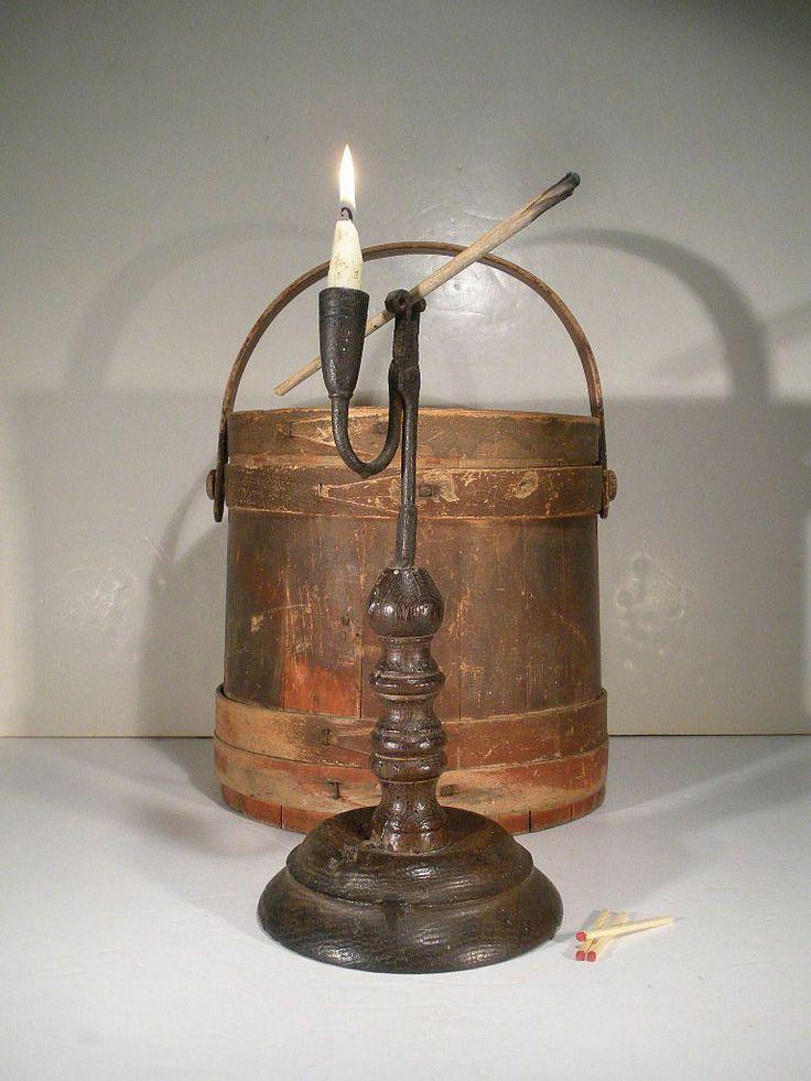 548 best primitive lighting candles lanterns lamps for Wooden kerosene lamp holder