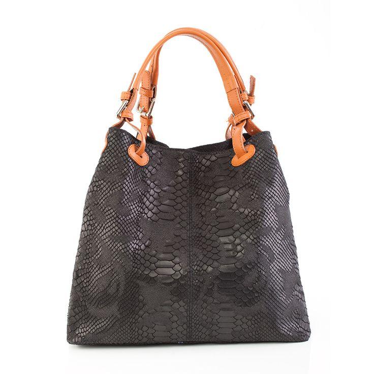 Penelope Shopper Tote (Black) by Marla Fiji   ilovehandbags.com.au