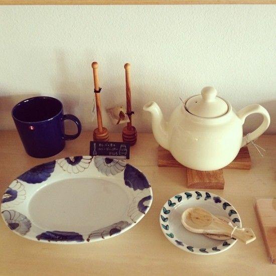 九谷焼のお皿。 | 北欧、暮らしの道具店