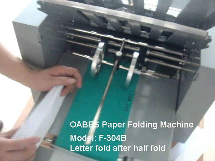 Perfect A3 paper folding machine hot selling