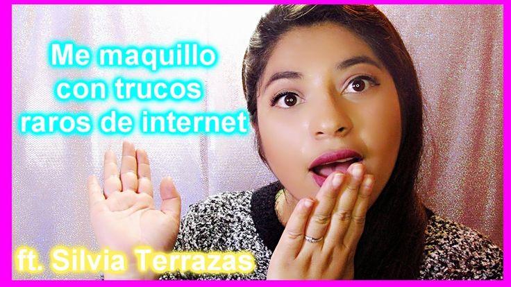 Probando Trucos Raros de Internet ft. Silvia Terrazas /Bichito meikat