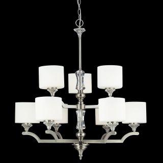2000-9  #chandelier #brushednickel #collection #elegant