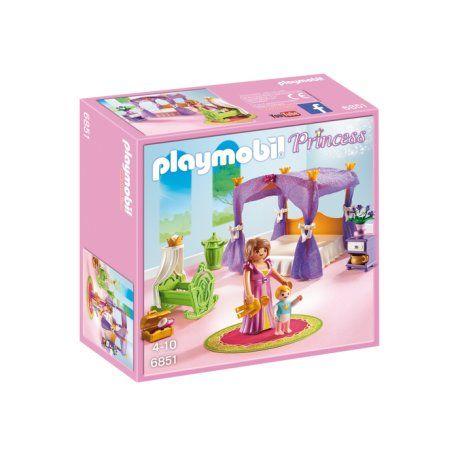Witajcie,    Różowy zestaw Playmobil 6851 - Niebiańska Sypialnia Serii Księżniczki.    Z zestawem dziewczynki już od lat 4 mogą wczuć się w rolę królowej, odgrywać sceny z baśni i bajek lub wymyślać własne historie.     W niebiańskiej sypialni jest także mały chłopiec, książe.     Dobry sen królowej zapewni łóżko z baldachimem    Nie tylko królowej:)    #playmobil #niebieskasypialnia #zabawki #niczchin #kraków