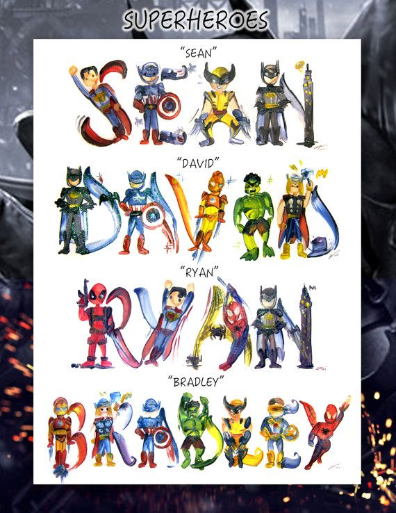 Marvel Super Heroes Names | www.pixshark.com - Images ...