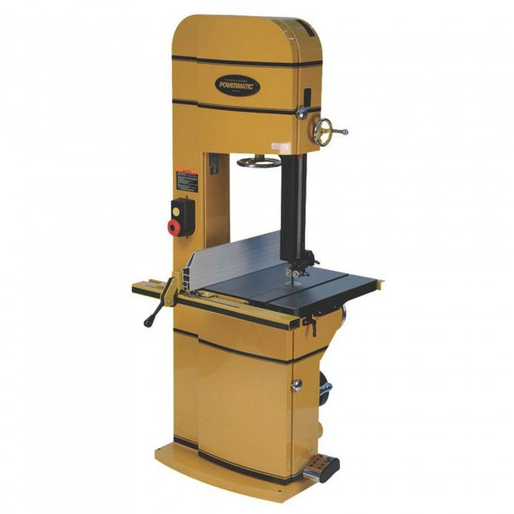 #rocklerdreamworkshop  Powermatic® 18'' Bandsaw 5HP 1PH