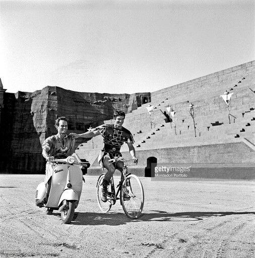 Stephen Boyd and Charlton Heston Ben Hur