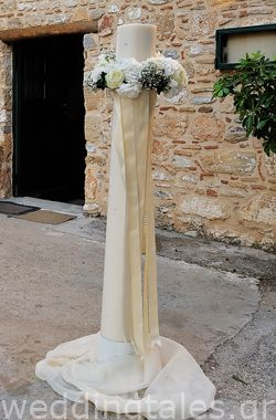 Lambades for Greek wedding from Dimiourgies Oneiro, Greece....