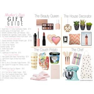 Mother's Day Gift Guide //