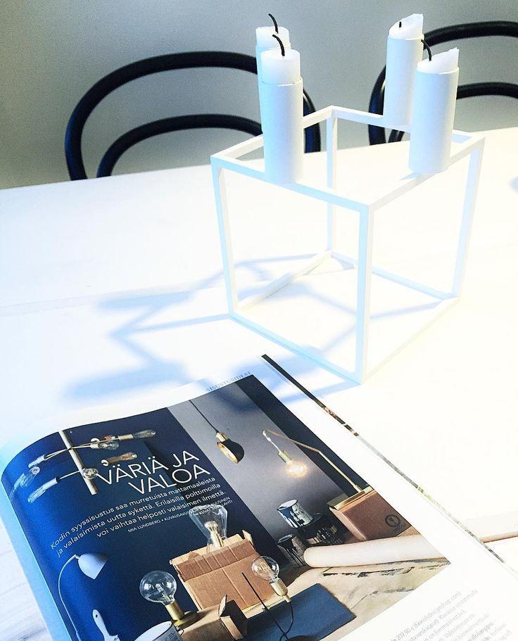 Brigth - By Rydens in the @kotijakeittio interior magazine.   Designer behind Bright is Angelica Linderum.  #sessak #sessaklighting #maahantuoja #byrydens #interiormagazine #interior #luminaire #lighting #valaisin #sisustuslehti #kotijakeittiö #sisustus #sisustusinpiraatio #homeinterior #interiorinspiration #interiorinspo #scandinaviandesign #design #designlighting