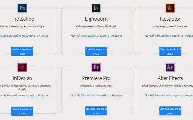 Come attivare tutte le applicazioni in Adobe CC #adobe