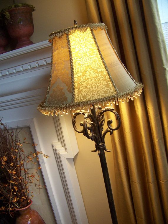 91 best lighting shades and lamps images on pinterest night lamps recover and make a custom lampshade videoy be worth buying at some point mozeypictures Image collections