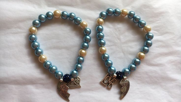 A personal favourite from my Etsy shop https://www.etsy.com/au/listing/514225636/mother-daughter-bracelet-set