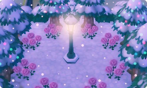 Tu as besoin de:_Cèdre                           _Rose rose                           _ lampadaire de base.