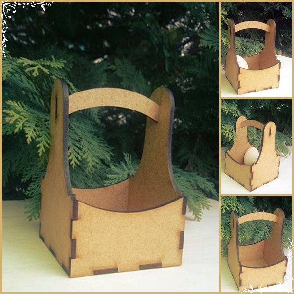 Decorative gift basket by DreamArtFactory on Etsy
