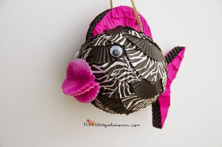 Piñata Pez Cebra