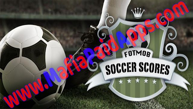 FotMob Pro Apk for Android    FotMob Unlocked Apk  FotMob ProUnlocked is aSportsGamefor Android  Download last version ofFotMob ProUnlocked APK for Android fromMafiaPaidAppswith direct link  Tested By MafiaPidApps  without adverts & license problem  without Lucky patcher & google play the mod   Over 10 million downloads for the #1 football app  The #1 football app offering real-time scores news and breaking news notifications from your favorite teams.  FotMobcovers World Cup 2018 Premier…