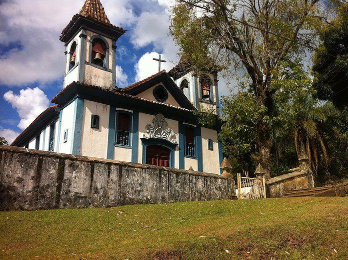 Santa Rita Durão, distrito de Mariana (MG) - Igreja de Nossa Senhora do Rosário