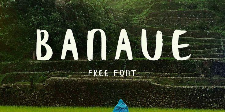 Banaue Free Font