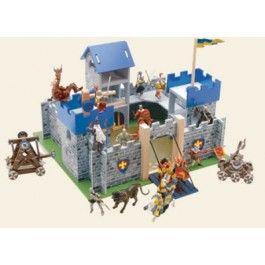 Le toy van Excalibur kasteel.