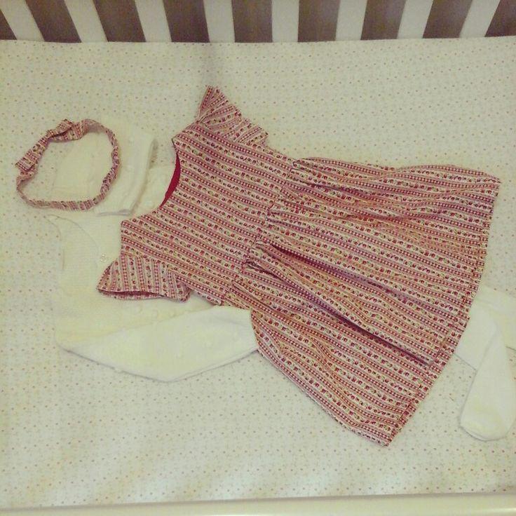 Dress & headband @linzy_o #childrenswear #toocute #handmade