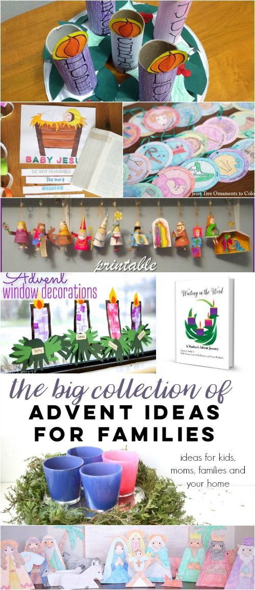 The Big Bad Post of Advent Ideas for Catholic Families