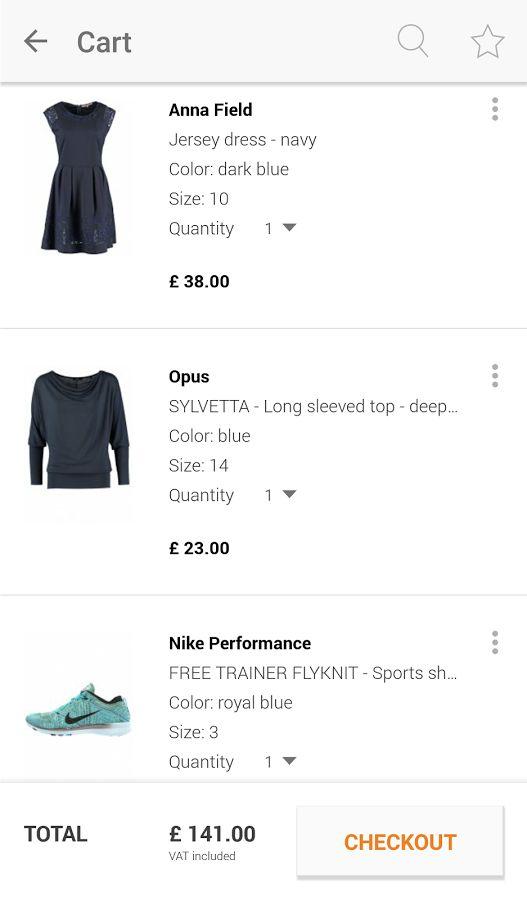 Zalando – Shopping & Fashion- screenshot