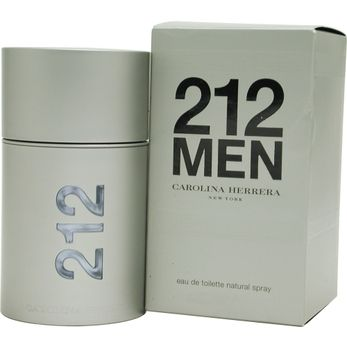 Launched by the design house of Carolina Herrera in 1999, 212 by Carolina Herrera for Men posesses a blend of: mandarin, grapefruit, iron woods, sandalwood It is recommended for daytime wear.