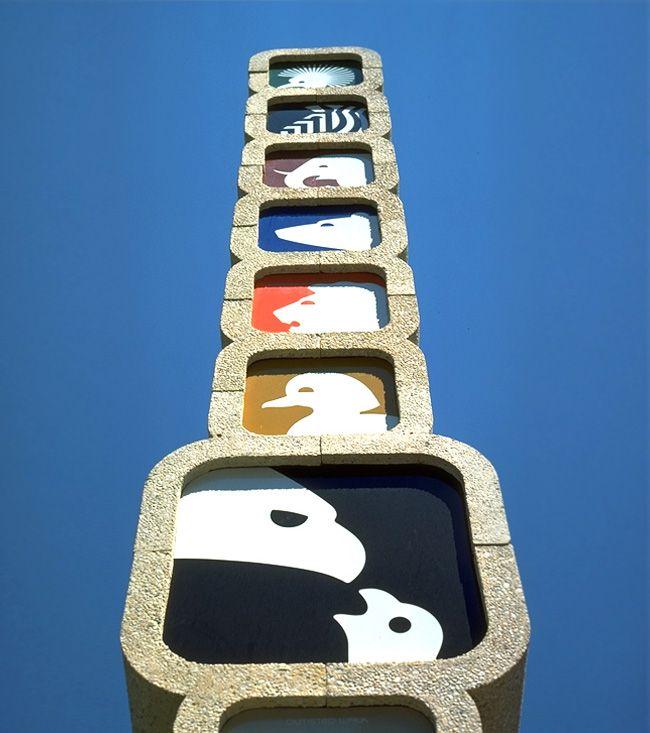 Love National Zoo Washington, USA - by Wyman & Cannan, 1973-pinned by http://www.auntbucky.com  #zoo #design #graphics