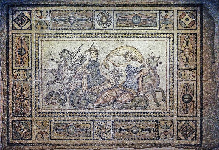 The Kidnapping of Europa Mosaic - Europa (mythology) - Wikipedia