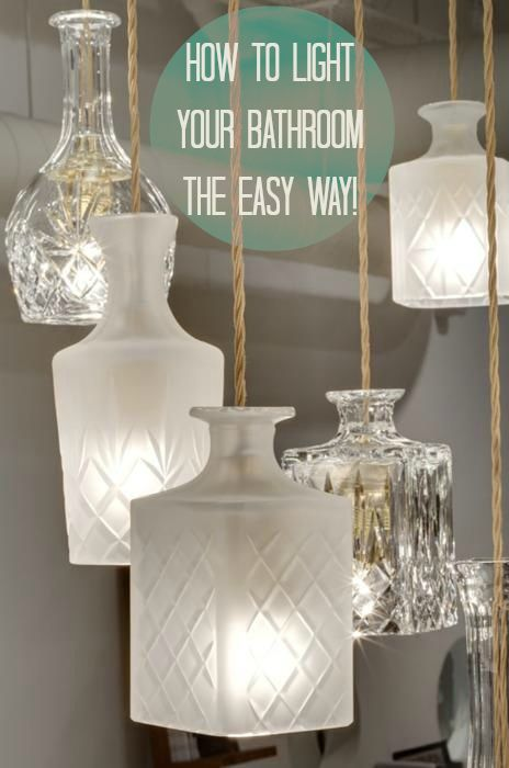 Customise your Bathroom Lighting with Two Easy Approaches