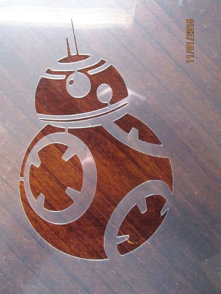 Star Wars BB-8 Stencil for Airbrush, Crafting, Art Work, etc. #Unbranded