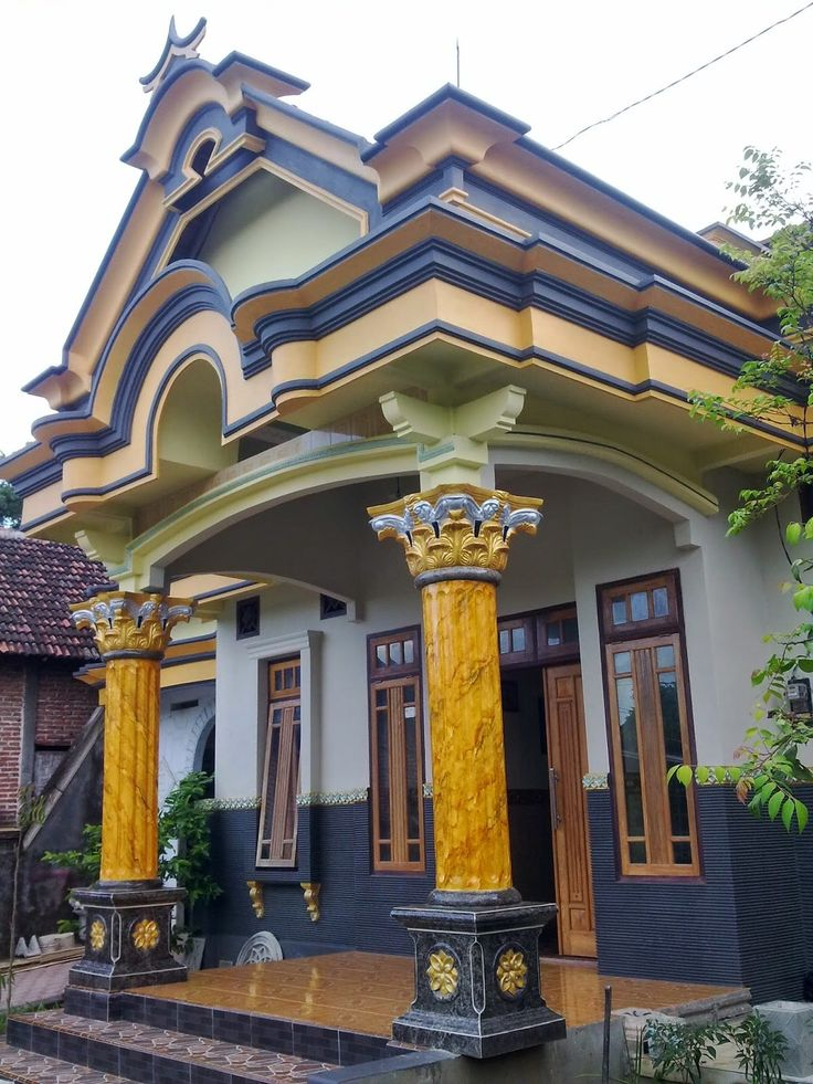Lisplang Rumah Sederhana Cara Golden